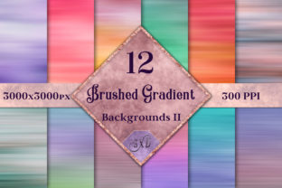 Brushed Gradient Backgrounds II Graphic By SapphireXDesigns