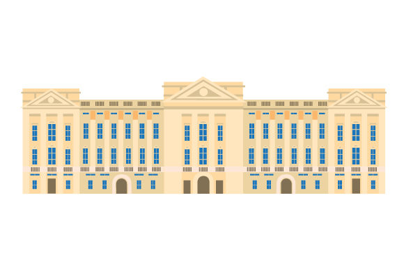 Buckingham Palace UK Designs Craft Cut File By Creative Fabrica Crafts