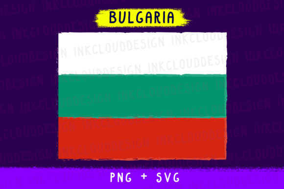 Download Free Bulgaria Europe World Country Flags Svg Graphic By for Cricut Explore, Silhouette and other cutting machines.