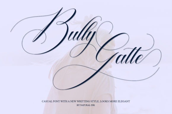 Print on Demand: Bully Gatte Script & Handwritten Font By Natural Ink - Image 8