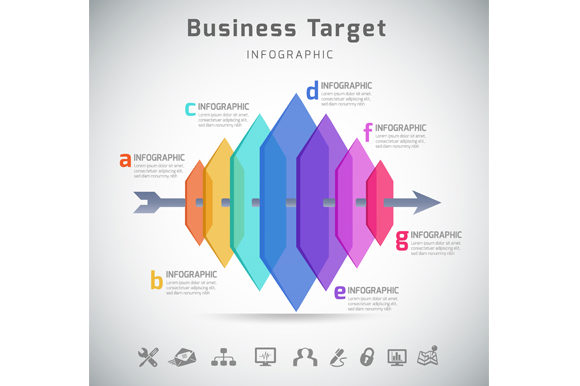 Download Free Business Infographic Template Graphic By Vito12 Creative Fabrica for Cricut Explore, Silhouette and other cutting machines.