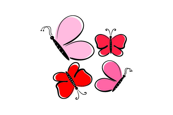 Download Free Butterflies Svg Cut File By Creative Fabrica Crafts Creative for Cricut Explore, Silhouette and other cutting machines.