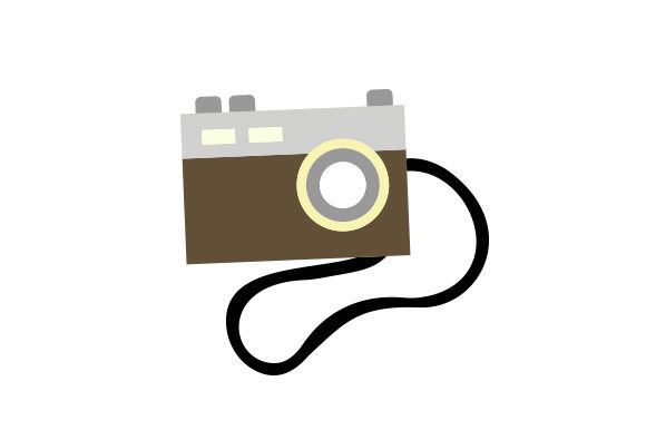 Download Free Camera With Strap Svg Cut File By Creative Fabrica Crafts SVG Cut Files