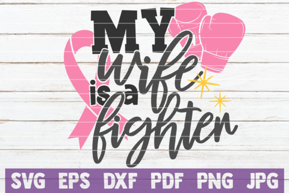 Cancer Fighter Bundle | SVG Cut Files Graphic Graphic Templates By MintyMarshmallows - Image 11