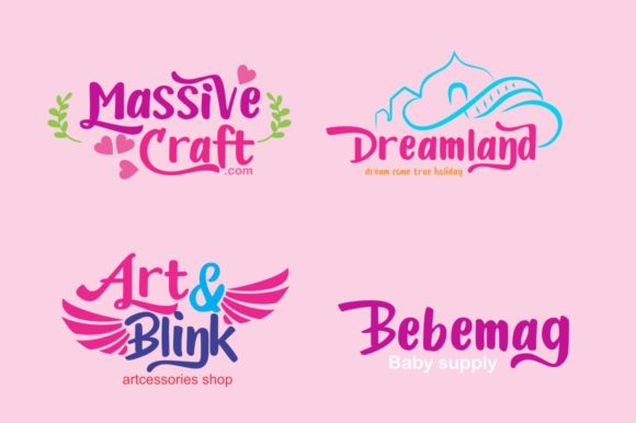 Print on Demand: Candylove Display Font By victoriant99 - Image 3