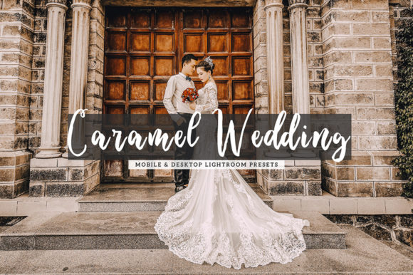 Print on Demand: Caramel Wedding Lightroom Presets Graphic Actions & Presets By Creative Tacos