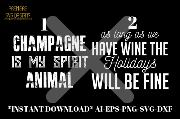 Download Free Champagne Animal Wine Holidays Graphic By Premiereextensions for Cricut Explore, Silhouette and other cutting machines.