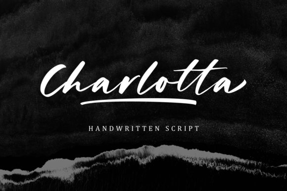 Print on Demand: Charlotta Script & Handwritten Font By letterhend