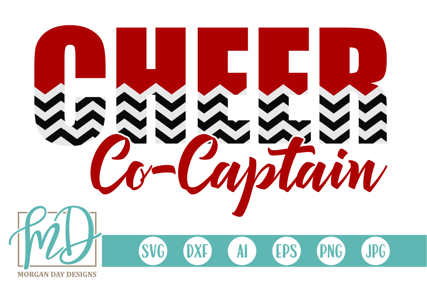 Download Free Cheer Captain Graphic By Morgan Day Designs Creative Fabrica SVG Cut Files