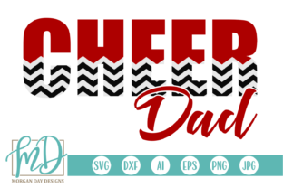 Download Free Cheer Dad Svg Grafico Por Morgan Day Designs Creative Fabrica for Cricut Explore, Silhouette and other cutting machines.