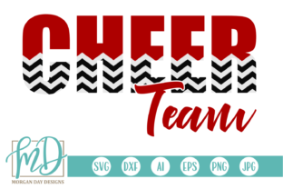 Download Free Cheer Team Graphic By Morgan Day Designs Creative Fabrica for Cricut Explore, Silhouette and other cutting machines.