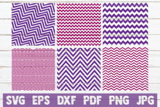 Download Free Chevron Pattern Cut Files Graphic By Mintymarshmallows for Cricut Explore, Silhouette and other cutting machines.