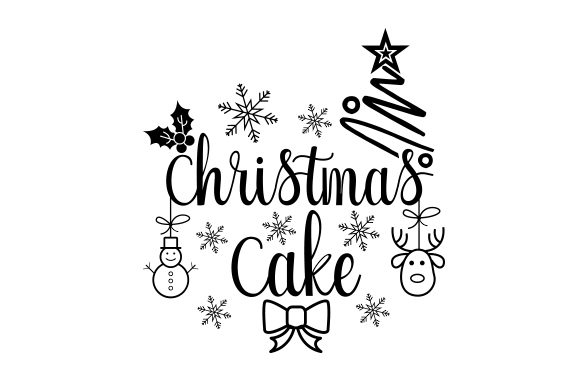 Download Free Christmas Cake Svg Cut File By Creative Fabrica Crafts for Cricut Explore, Silhouette and other cutting machines.