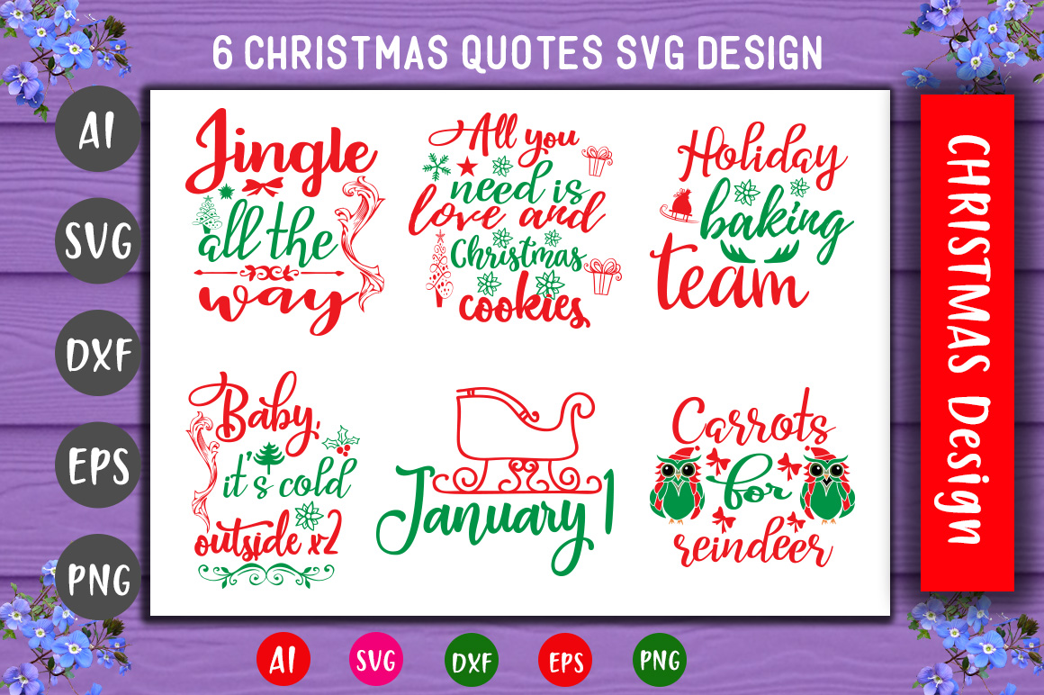 Download Free Fun Christmas Bundle Graphic By Creativeart Creative Fabrica for Cricut Explore, Silhouette and other cutting machines.