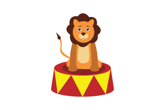 Download Free Circus Lion Svg Cut File By Creative Fabrica Crafts Creative for Cricut Explore, Silhouette and other cutting machines.
