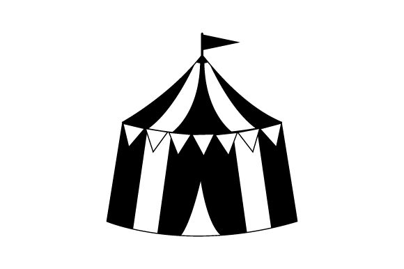 Circus Tent Craft Design By Creative Fabrica Crafts Image 2