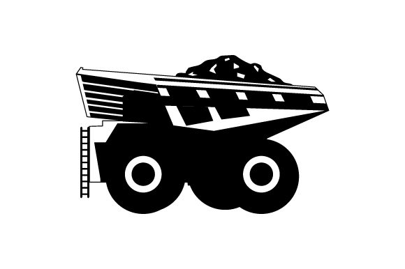Download Free Coal Mining Truck Svg Cut File By Creative Fabrica Crafts for Cricut Explore, Silhouette and other cutting machines.