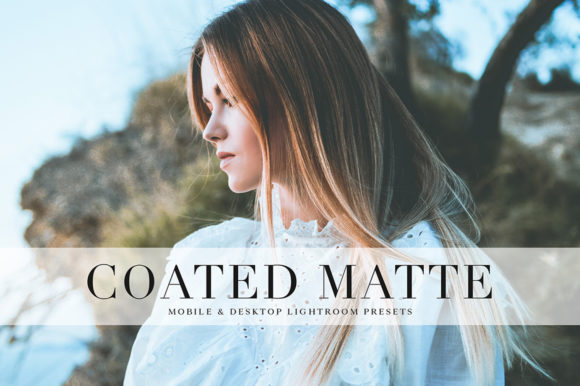 Download Free Coated Matte Lightroom Presets Grafico Por Creative Tacos for Cricut Explore, Silhouette and other cutting machines.