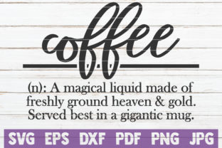 Download Free Coffee Definition Cut File Graphic By Mintymarshmallows for Cricut Explore, Silhouette and other cutting machines.