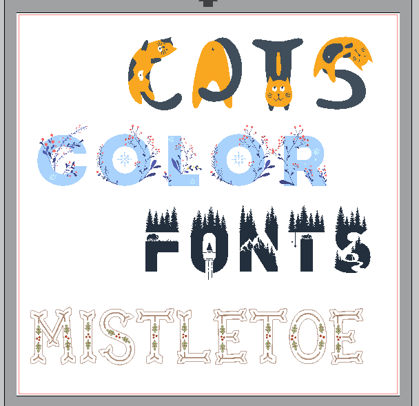 Download Free How To Use Color Fonts In Silhouette Creative Fabrica for Cricut Explore, Silhouette and other cutting machines.