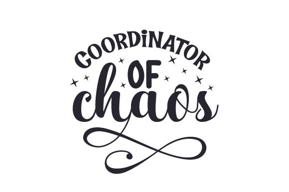 Coordinator of Chaos Family Craft Cut File By Creative Fabrica Crafts - Image 1