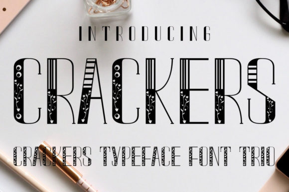 Print on Demand: Crackers Display Font By jehansyah251 - Image 3