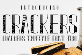 Crackers Font By jehansyah251