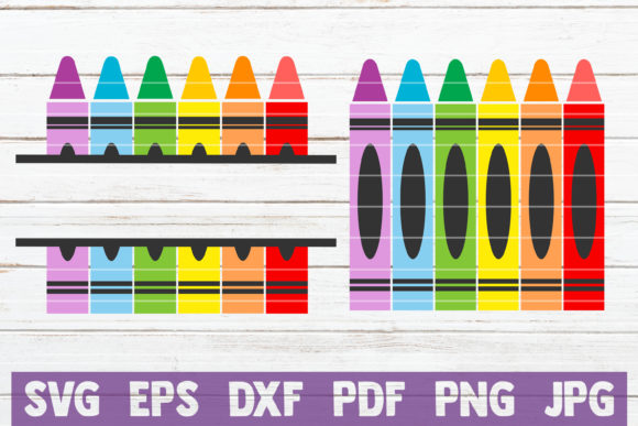 Crayons  Graphic Crafts By MintyMarshmallows