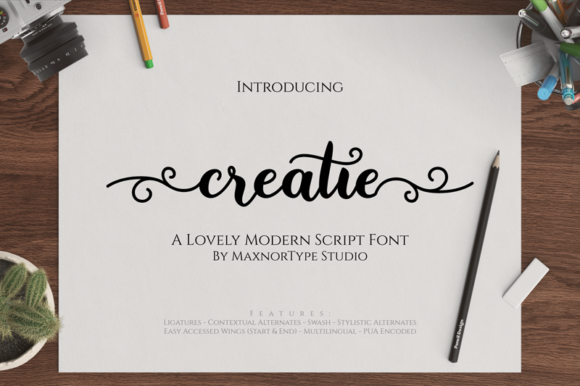Creatie Font By MaxnorType Image 1