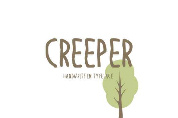 Print on Demand: Creeper Display Font By Imposing Fonts