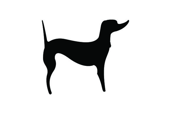 Download Free Cute Tall Dog Svg Cut File By Creative Fabrica Crafts Creative for Cricut Explore, Silhouette and other cutting machines.