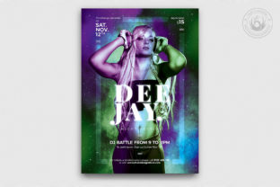 DJ Session Flyer Template V7 Graphic By ThatsDesignStore
