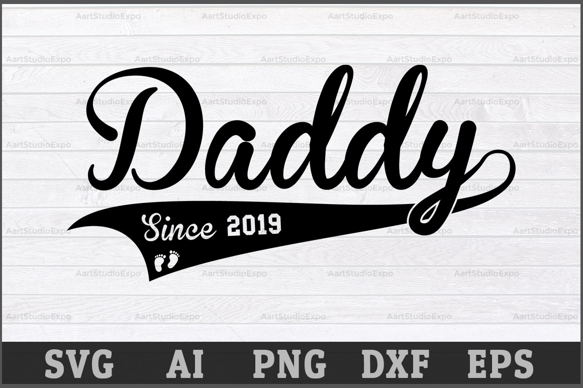 Download Free Daddy Graphic By Aartstudioexpo Creative Fabrica for Cricut Explore, Silhouette and other cutting machines.