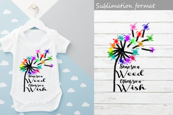 Dandelion Watercolor Transparent   Graphic Crafts By Scmdesign
