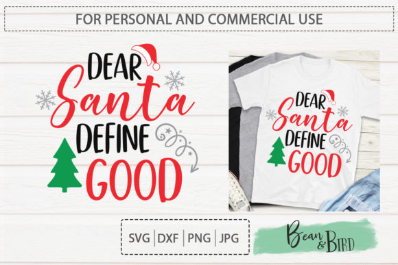 Print on Demand: Dear Santa Define Good Graphic Crafts By Jessica Maike