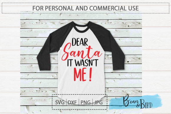 Print on Demand: Dear Santa It Wasn't Me Graphic Crafts By Jessica Maike