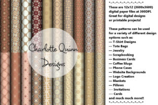 Digital Papers by Charlotte Quinn Graphic By Digital Pattern Club