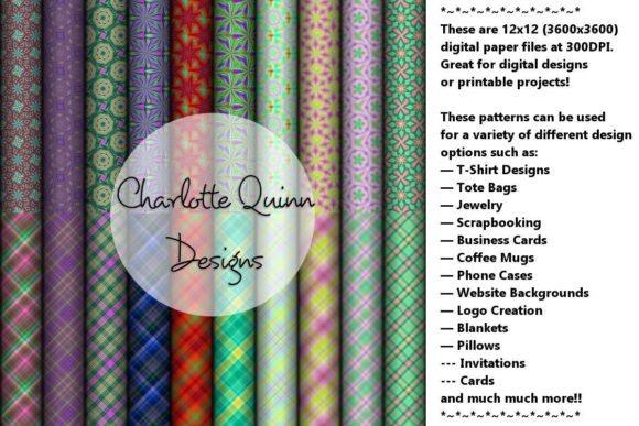 Digital Papers Graphic By Digital Pattern Club Image 1