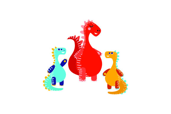 Dino Mom! Dinosaurs Craft Cut File By Creative Fabrica Crafts