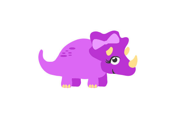 Download Free Dinosaur Girl Svg Cut File By Creative Fabrica Crafts Creative SVG Cut Files