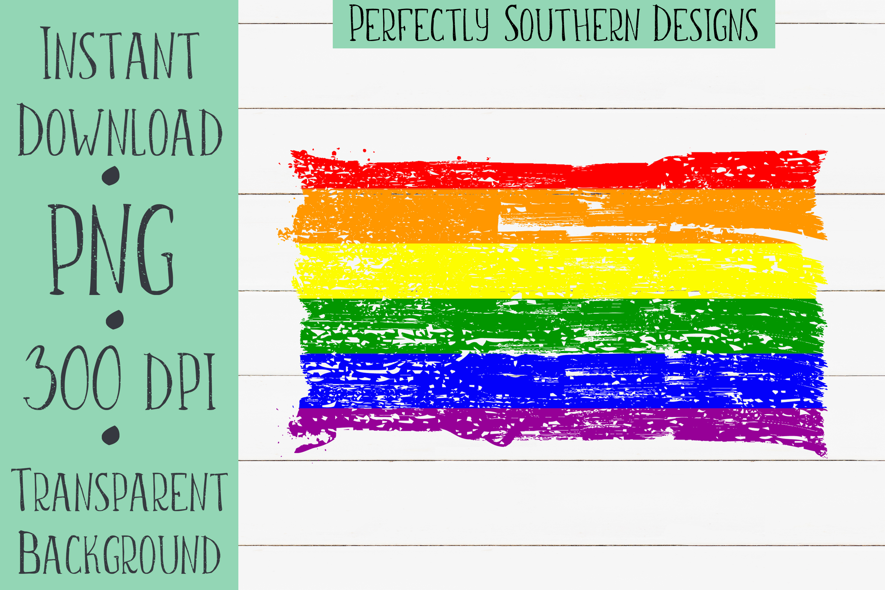 Distressed Gay Pride Flag Graphic By Perfectlysoutherndesigns