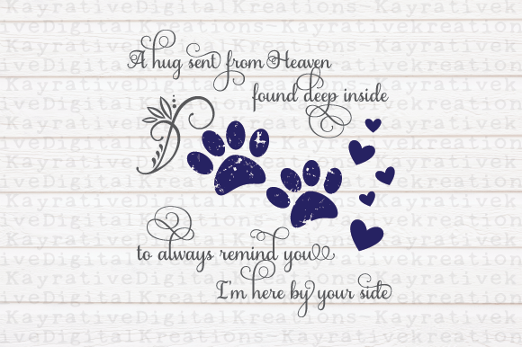Download Free Dog Memorial Graphic By Kayla Griffin Creative Fabrica for Cricut Explore, Silhouette and other cutting machines.
