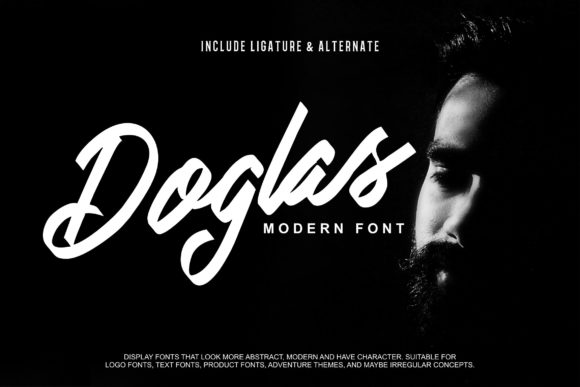 Print on Demand: Doglas Script & Handwritten Font By Vunira