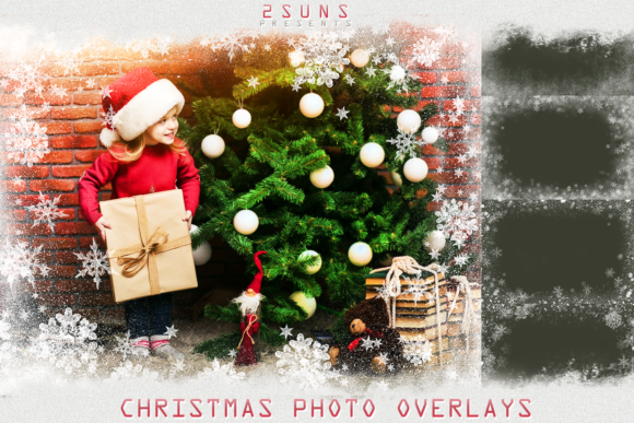 Photo Overlays Snowflake Graphic Layer Styles By 2SUNS