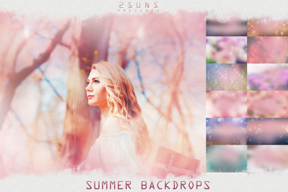Photo Overlays Summer Backdrops Graphic Layer Styles By 2SUNS