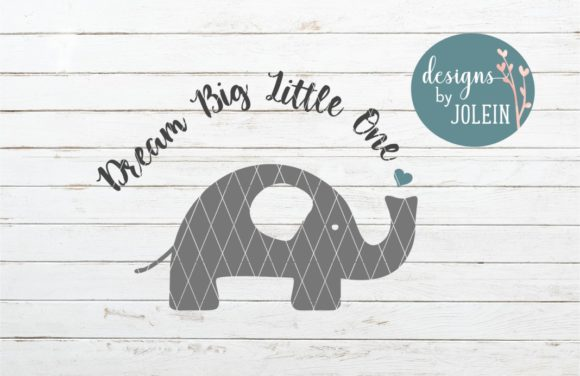 Download Free Dream Big Little One Graphic By Designs By Jolein Creative Fabrica for Cricut Explore, Silhouette and other cutting machines.