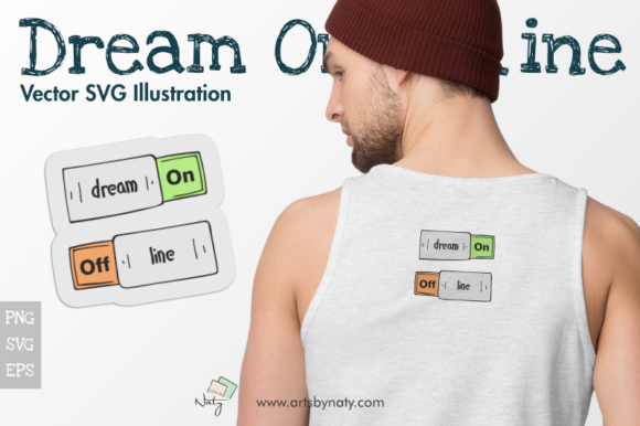 Print on Demand: Dream on Offline Graphic Illustrations By artsbynaty