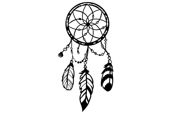 Dreamcatcher Boho Craft Cut File By Creative Fabrica Crafts