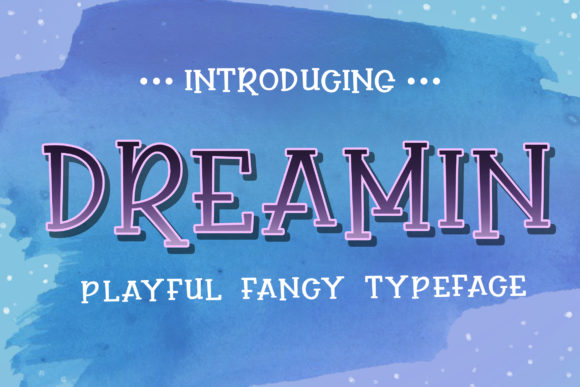 Print on Demand: Dreamin Display Font By Subectype