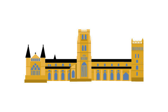 Download Free Durham Cathedral Svg Cut File By Creative Fabrica Crafts SVG Cut Files